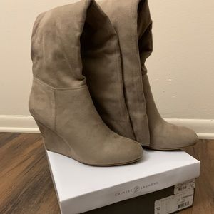 Chinese Laundry - Over the Knee Wedged Boots